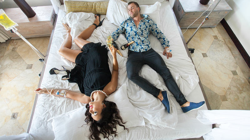 Bali must try treatments: Hangover Lounge's IV hangover treatment