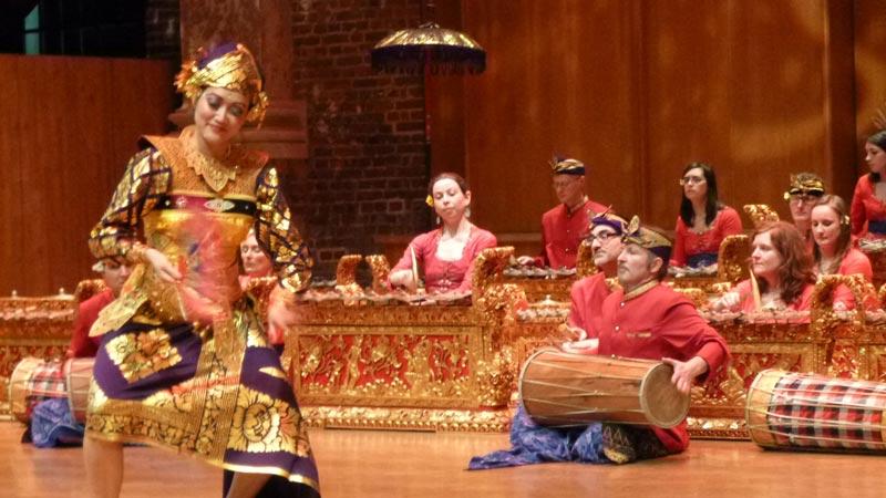 balinese dance and gamelan