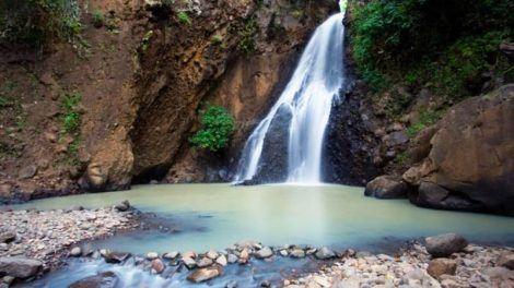 Sing sing waterfall in Cempaka village, Bali